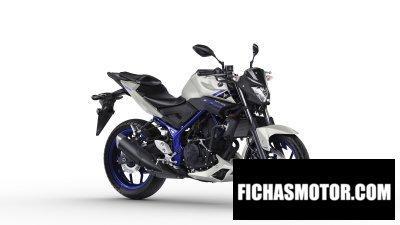 Ficha técnica Yamaha mt-03 2016