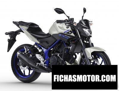 Ficha técnica Yamaha mt-03 2017