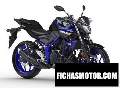 Ficha técnica Yamaha mt-03 2018
