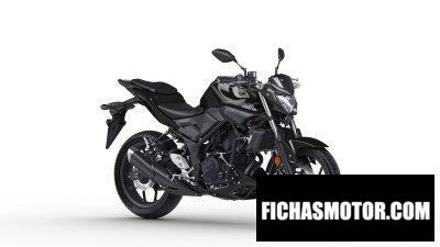 Ficha técnica Yamaha MT-03 2019