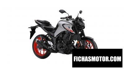Ficha técnica Yamaha MT-03 2020