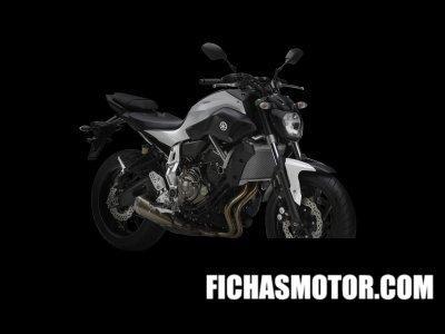 Ficha técnica Yamaha mt-07 2014