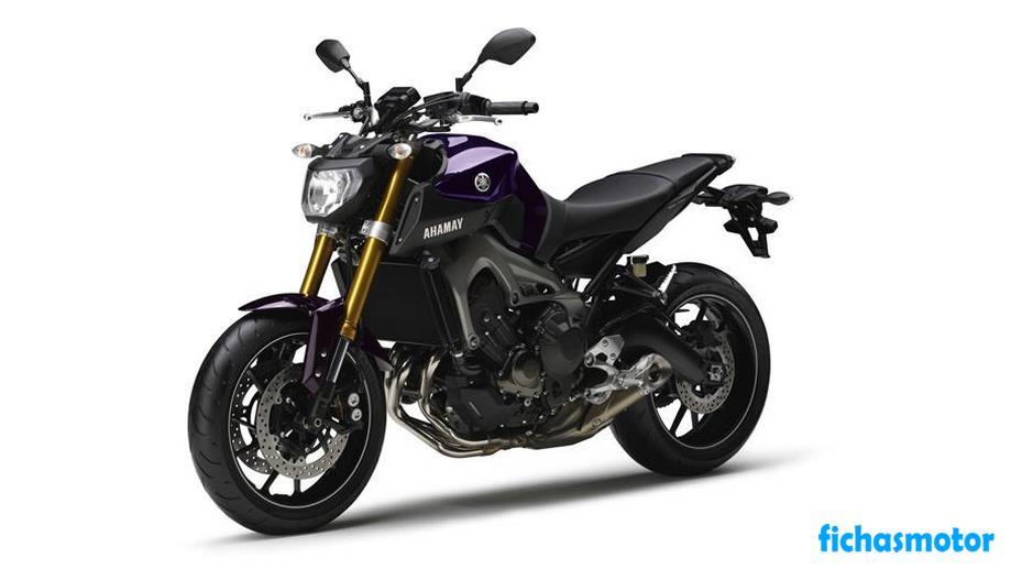 Ficha técnica Yamaha mt-09 2014
