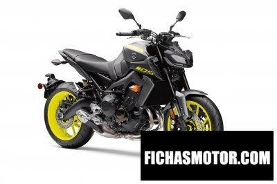Ficha técnica Yamaha mt-09 2018