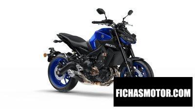 Ficha técnica Yamaha MT-09 2019