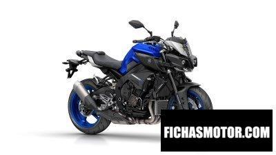 Ficha técnica Yamaha mt-10 2016