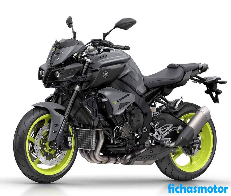 Ficha técnica Yamaha mt-10 2017
