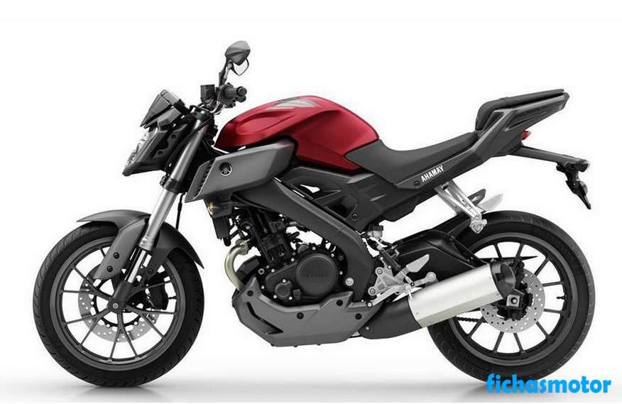 Imagen moto Yamaha mt-125 año 2015