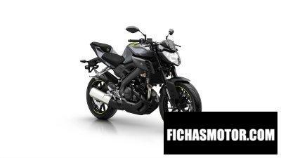 Ficha técnica Yamaha mt-125 2016