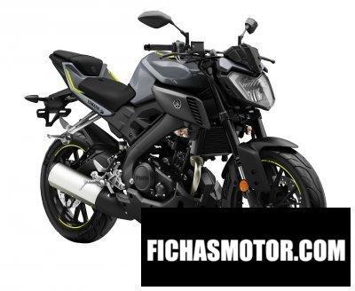 Imagen moto Yamaha mt-125 año 2017