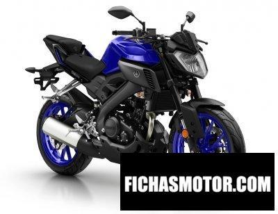 Ficha técnica Yamaha mt-125 2018