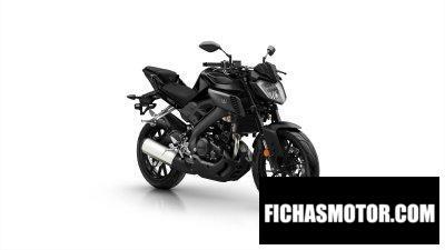 Ficha técnica Yamaha MT-125 2019