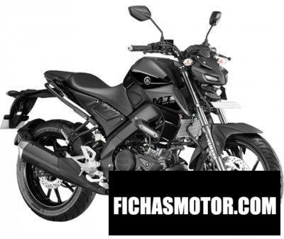 Ficha técnica Yamaha MT-15 2020