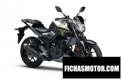 Ficha técnica Yamaha mt-25 2018