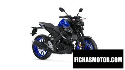 Ficha técnica Yamaha MT125 2020