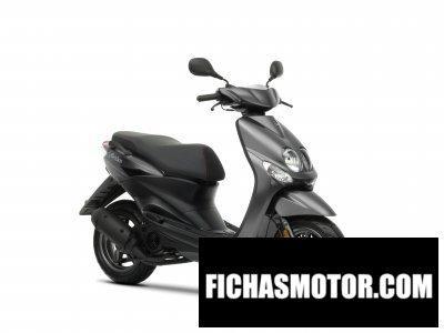 Imagen moto Yamaha neos año 2010