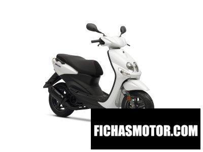 Imagen moto Yamaha neos año 2012
