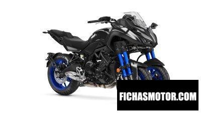 Imagen moto Yamaha Niken año 2019