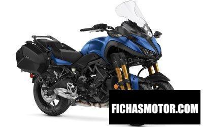 Ficha técnica Yamaha Niken GT 2020