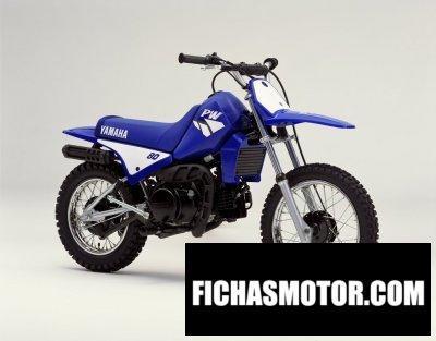 Imagen moto Yamaha pw 80 año 2002