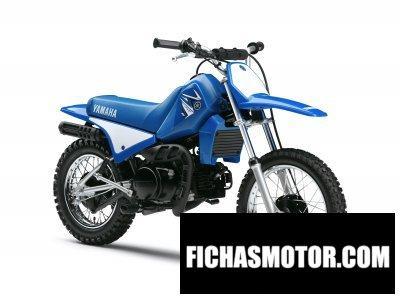 Ficha técnica Yamaha pw80 2009