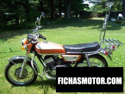 Ficha técnica Yamaha r 5 1971