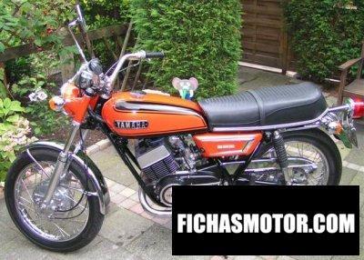 Ficha técnica Yamaha r 5 f 1972