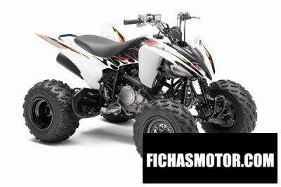 Ficha técnica Yamaha raptor 250 2010