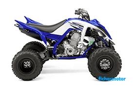 Ficha técnica Yamaha raptor 700 2016