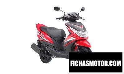 Imagen moto Yamaha ray z año 2017