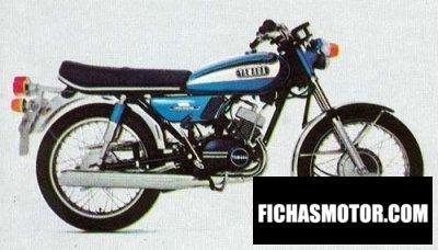 Ficha técnica Yamaha rd 125 1973