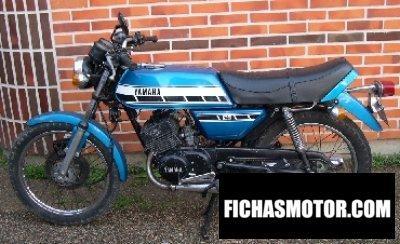 Ficha técnica Yamaha rd 125 dx 1976