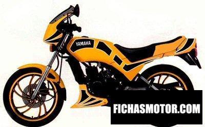 Ficha técnica Yamaha rd 125 lc 1982