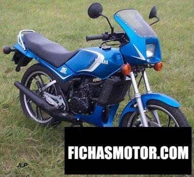 Ficha técnica Yamaha rd 125 lc 1983