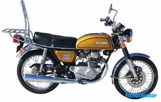 Ficha técnica Yamaha rd 200 1975