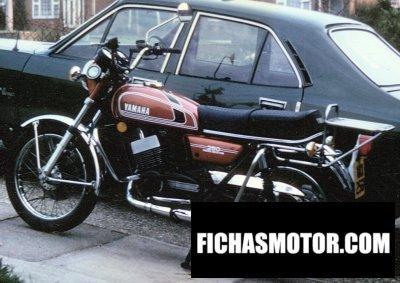 Ficha técnica Yamaha rd 250 1975