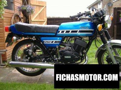 Ficha técnica Yamaha rd 250 1978