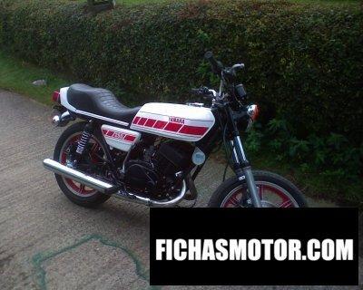 Ficha técnica Yamaha rd 250 1979