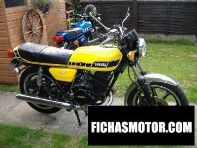 Imagen moto Yamaha rd 250 año 1980