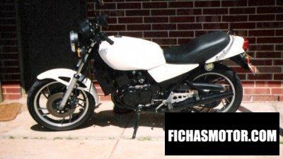 Ficha técnica Yamaha rd 250 1981
