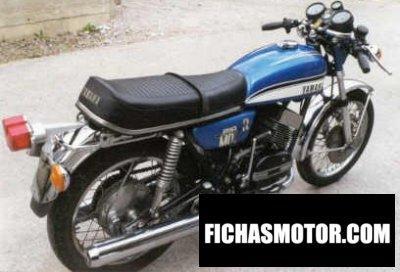 Ficha técnica Yamaha rd 250 (5-speed) 1973