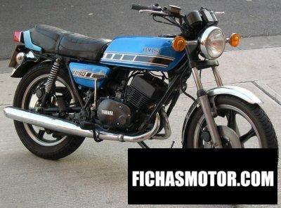 Ficha técnica Yamaha rd 250 dx 1976