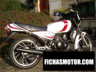 Ficha técnica Yamaha rd 250 lc 1982