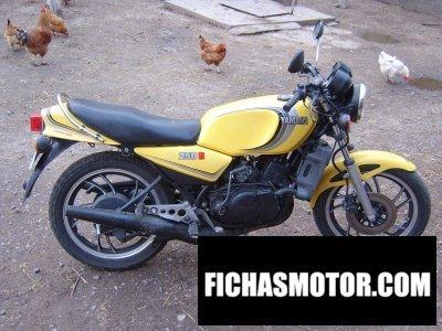 Ficha técnica Yamaha rd 250 lc 1983