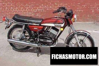 Ficha técnica Yamaha rd 350 1980