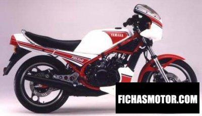 Ficha técnica Yamaha rd 350 1985