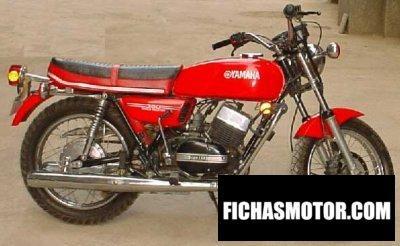 Ficha técnica Yamaha rd 350 1986