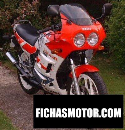 Ficha técnica Yamaha rd 350 1987