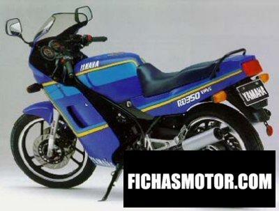 Ficha técnica Yamaha rd 350 1988