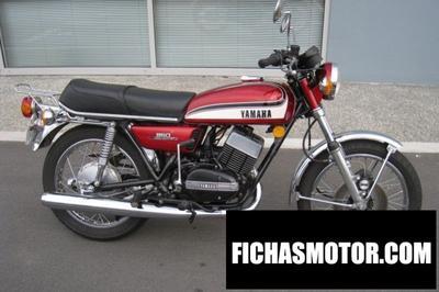 Ficha técnica Yamaha rd 350 (5-speed) 1973